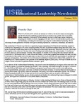 Educational Leadership Newsletter October 2016 by Educational Leadership Department, University of Southern Maine