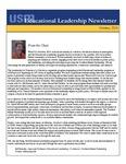 Educational Leadership Newsletter October 2016
