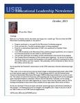 Educational Leadership Newsletter October 2015