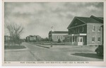 Post Theatre, Chapel and Hospital Postcard by none