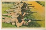 At the Rifle Range Postcard