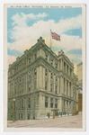 Post Office, Montréal Postcard