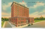 Y.M.C.A. Building, Providence, Rhode Island Postcard