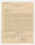 Sympathy Letter to Alphonse Dutil from Chaplain Ralph J. Smith