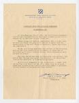 Memorial Day Letter from Major General John W. Daniel by John W. Daniel