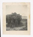 Soldiers Posing with Tank