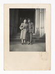 Elisée A. Dutil Standing with Woman in Coat