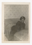 Elisée A. Dutil Reclining on Bed