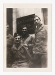 Elisée A. Dutil in Uniform with Other Soldiers in front of the Excelsior Hotel (3)
