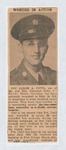 """Elisée A. Dutil """"Wounded in Action"""" Article [English] by Unknown"""