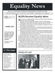 Equality News (Summer 2004) by Maggie Allen