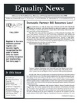 Equality News (Fall 2004) by Maggie Allen