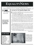 Equality News (Summer 2006) by Matthew R. Dubois