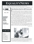 Equality News (Winter 2007) by Matthew R. Dubois