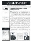 Equality News (Autumn 2007) by Matthew R. Dubois