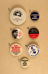 NON-VIOLENCE IS OUR STRENGTH: The Non-Violent Tradition in American Activism Emblazoned on Buttons