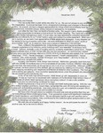 George and Heidi Remy Christmas Letter