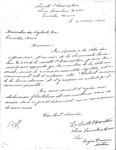 Letter from the Societé L'Assumption to the Association des Vigilants
