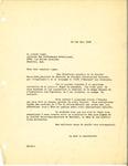 Letter from Société Saint-Jean Baptiste de Montréal to Alliance des Professeurs Catholiques by Société Saint-Jean Baptiste de Montréal