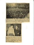 1946 News Clipping: Festival de la Bonne Chanson and Père Charles-Emile Gadbois by Unknown