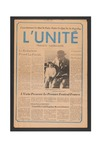 L'Unite, v.1 n.1, (May 1976) by Franco-American Collection