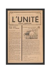 L'Unite, v.2 n .2, (Spring 1978) by Franco-American Collection