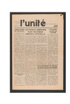 L'Unite, v.4 n.1, (Spring 1980) by Franco-American Collection