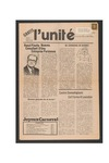 L'Unite, v.5 n.1, (January 1981) by Franco-American Collection