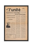 L'Unite, v.5 n.2, (January 1981) by Franco-American Collection