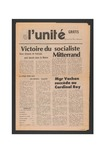 L'Unite, v.5 n.5., (May 1981) by Franco-American Collection