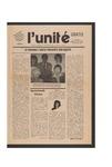 L'Unite, v.6 n.9, (September 1982) by Franco-American Collection