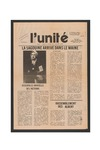 L'Unite, v.7 n.8, (October 1983) by Franco-American Collection