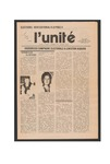 L'Unite, v.7 n.9, (November 1983) by Franco-American Collection