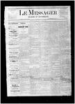 Le Messager, V1 N2, (03/15/1880)