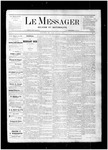 Le Messager, V1 N3, (04/01/1880)