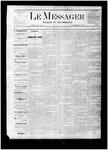 Le Messager, V1 N4, (04/08/1880)