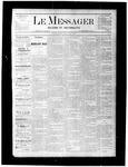 Le Messager, V1 N8, (05/06/1880)