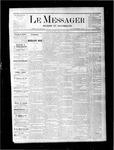Le Messager, V1 N9, (05/13/1880)
