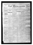 Le Messager, V1 N14, (06/17/1880) by Le Messager