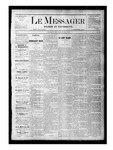 Le Messager, V1 N15, (06/24/1880) by Le Messager
