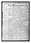 Le Messager, V1 N19, (07/22/1880) by Le Messager