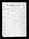 Le Messager, V1 N37, (12/01/1880) by Le Messager