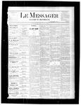 Le Messager, V1 N38, (12/09/1880)