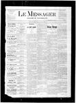 Le Messager, V1 N43, (01/13/1881)