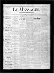 Le Messager, V1 N45, (01/27/1881)