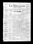 Le Messager, V1 N49, (02/24/1881)