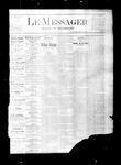 Le Messager, V2 N1, (03/21/1881)