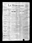Le Messager, V2 N4, (04/14/1881)