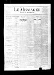 Le Messager, V2 N5, (04/21/1881)