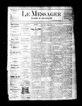 Le Messager, V2 N19, (07/28/1881)